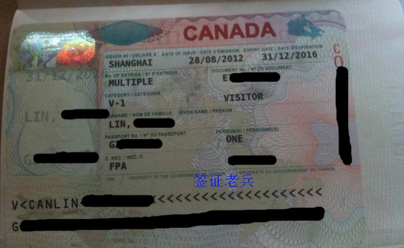 lin's visitor visa