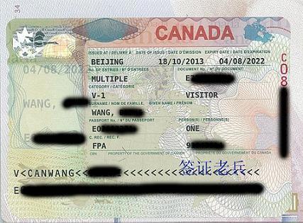 PMr.wang's visa