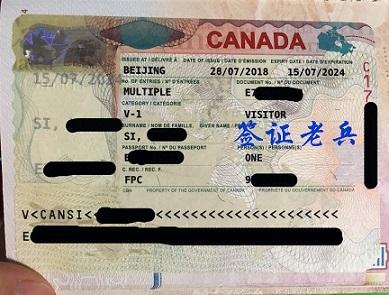 Psed Mr. Si's visitor visa